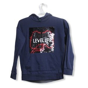 DIP Boys  Sequinned changing  graphic Hoodie